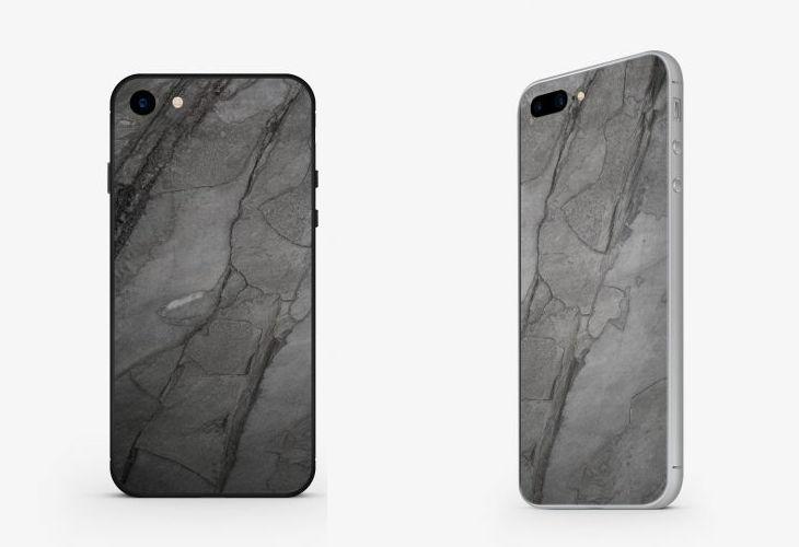 roxxlyn mineral slate stone iphone case