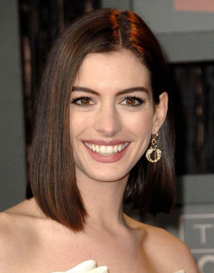 Anne Hathaway Shoulder Length Hairstyles