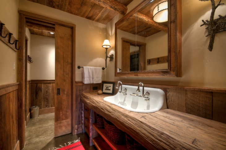 Rustic Bathroom Designs: 18+ Bathroom Countertop Designs, Ideas