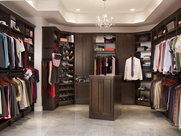 corner walk in closet cabinets
