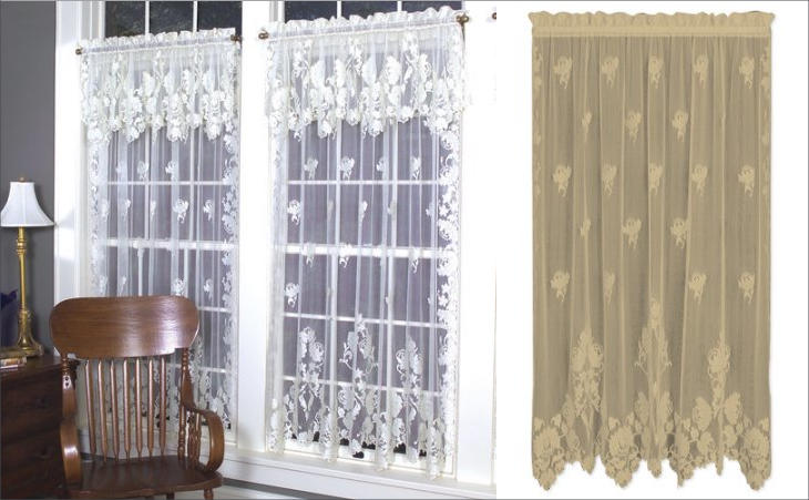Best Lace Curtain Designs Design Trends Premium Psd