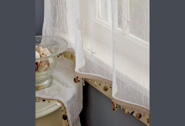 country curtains seaside lace trimmed tier panel