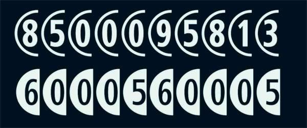 combinumerals font2