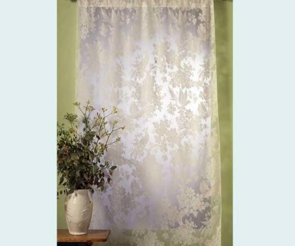 aviary madras lace curtain yardage