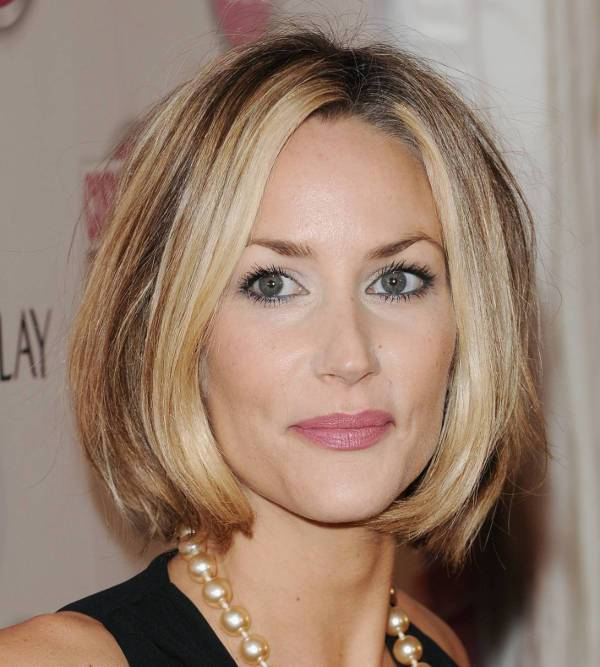 Lisa Butcher Medium Asymmetrical Bob Hairstyle