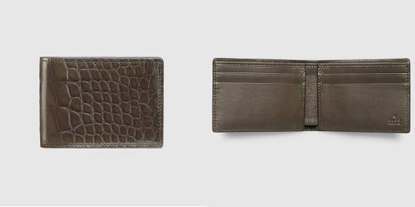 Gucci Crocodile Wallet