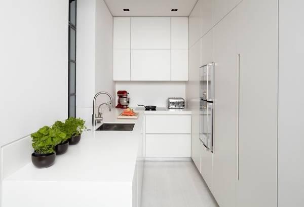 modern apartment kitchen storage cabinets