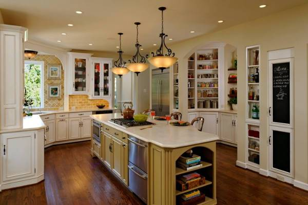 french country kitchen storage cabinets1