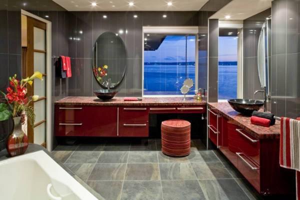 frameless oval bathroom mirror design1