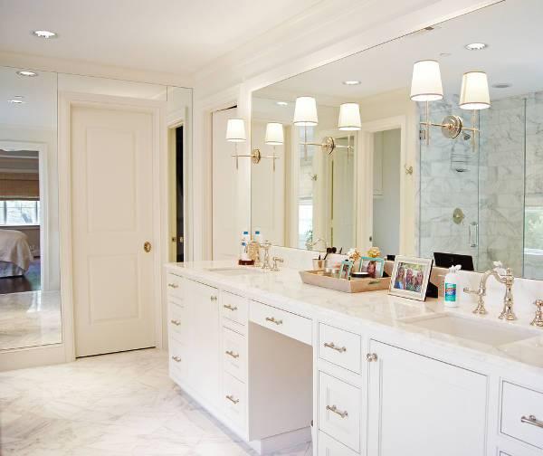 Classic Bathroom Wall Mirror Design