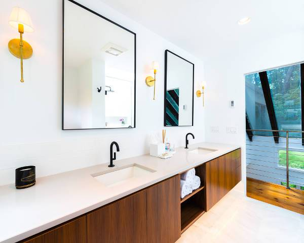 Design Trends Premium: 20+ Bathroom Mirror Designs, Ideas