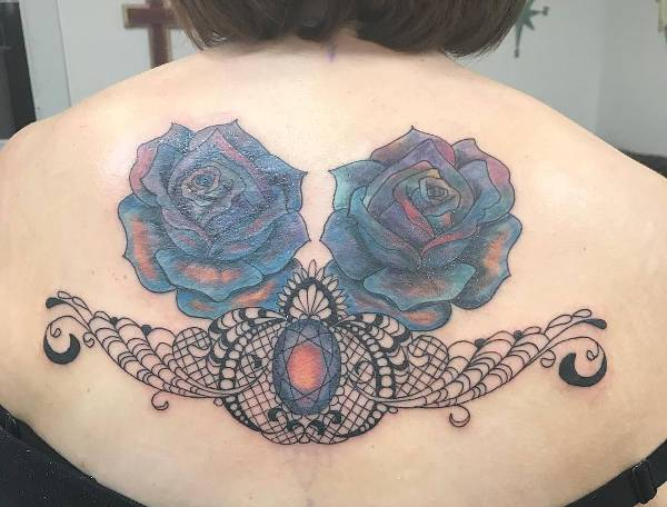 Diamond Back Tattoo for Women