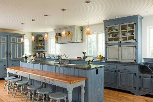 rustic farmhouse kitchen furniture