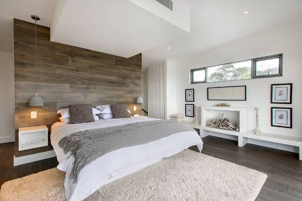 contemporary modern bedroom decorating idea