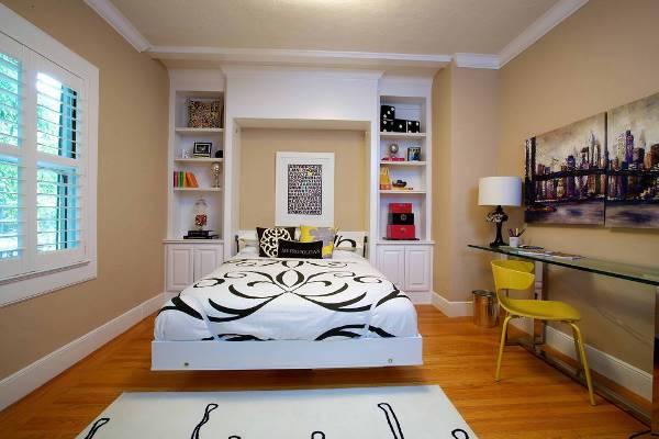vintage style bedroom decorating idea