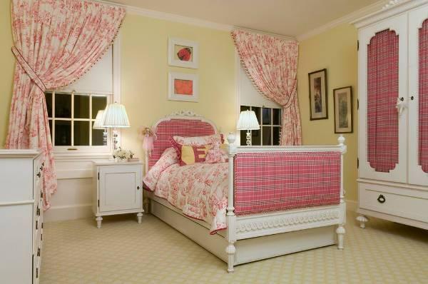 vintage kids bedroom decorating idea