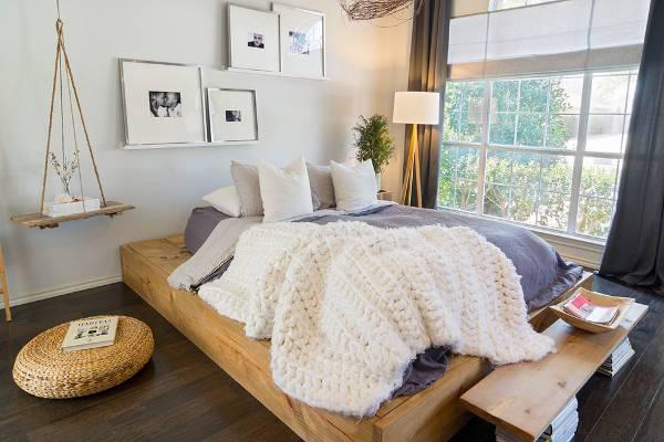 simple diy bedroom decorating idea