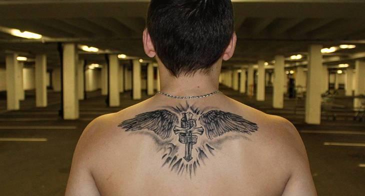 6142e50e0 20+ Wing Tattoo Designs, Ideas | Design Trends - Premium PSD, Vector ...