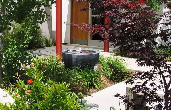 diy outdoor stone fountain