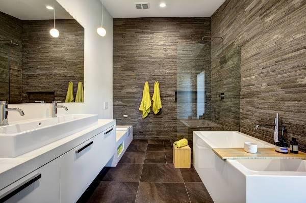 Small Modern White Bathroom Vanity