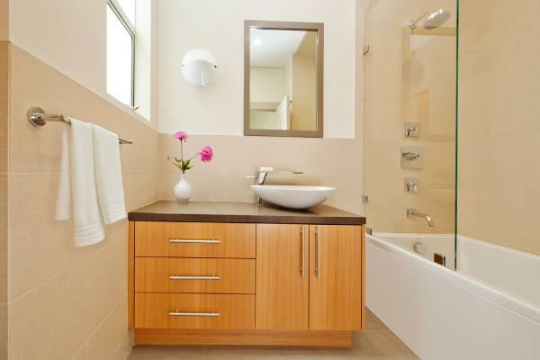 Simple Small Corner Bathroom Vanity
