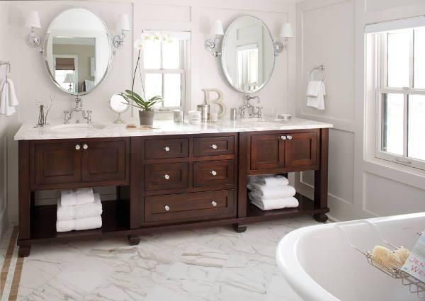 Small Wood Cabinets Bathroom Vanity