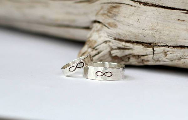 infinity promise couple ring