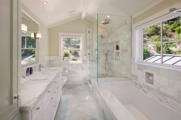 marble bathroom vanity countertop