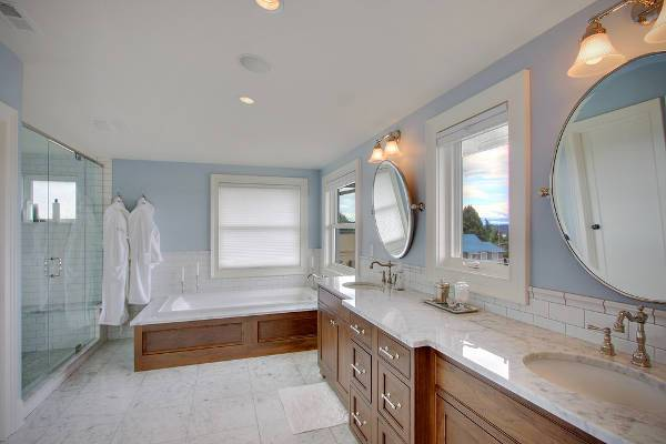 bathroom marble vanity countertop