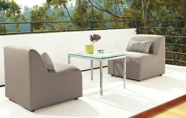 modern laguna outdoor chairs