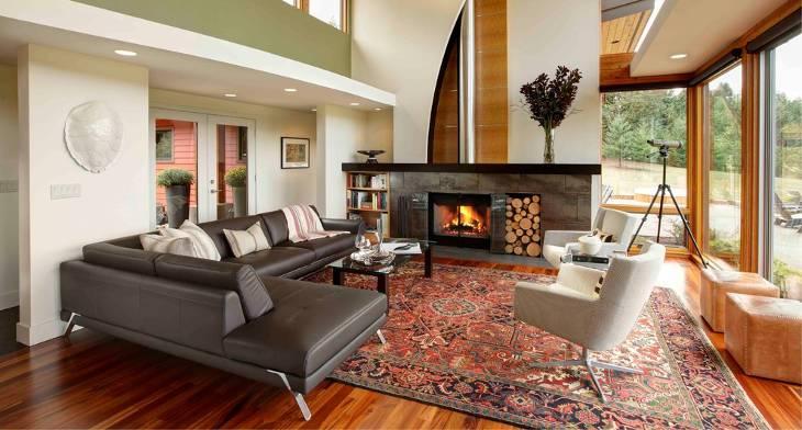 18+ Leather Sectional Sofa Designs, Ideas | Design Trends - Premium ...