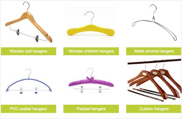 appropriate hangers