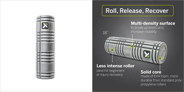 equipment trigger point core multi density foam roller