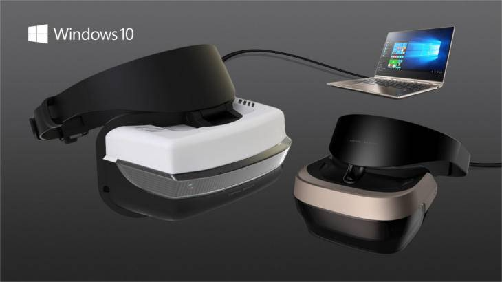 new virtual reality headsets for windows 10