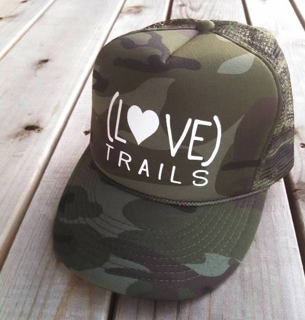 simple camo trucker hat