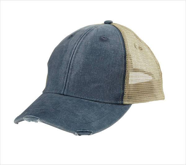 simple blank trucker hat