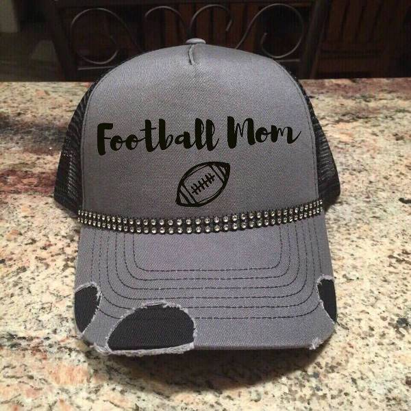 adorable bling trucker hat