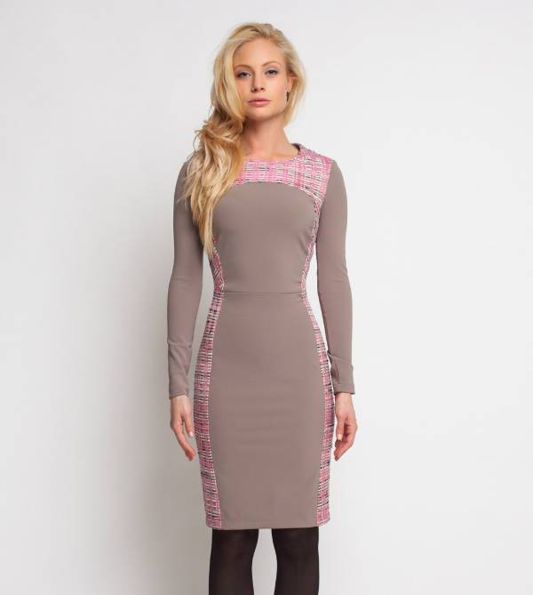 formal long sleeve bodycon dress