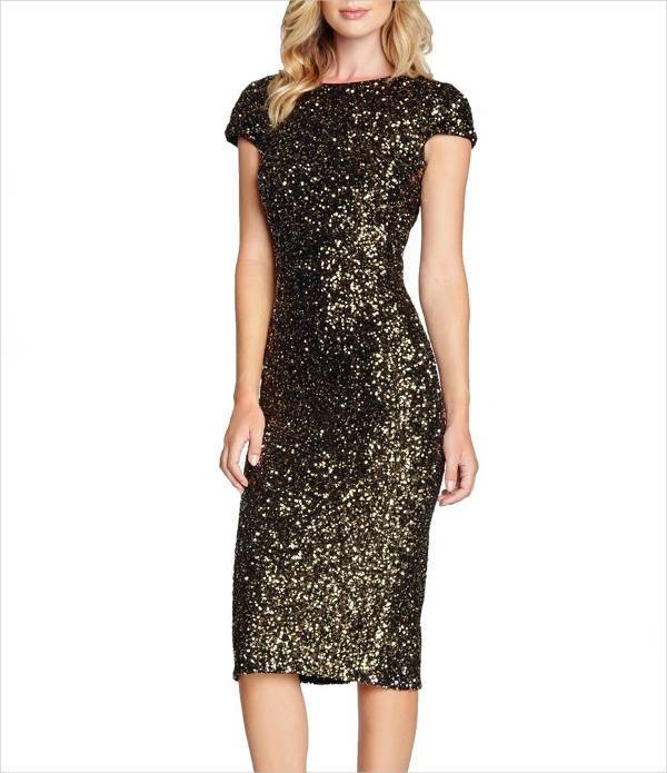 sequin bodycon homecoming dress