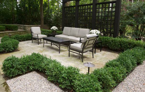 metal patio chairs with cushions1
