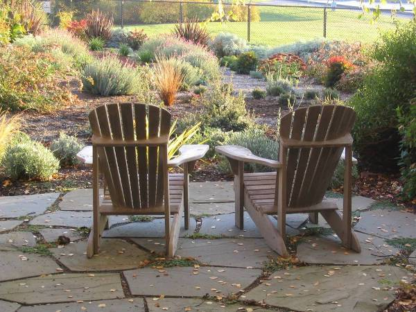 simple reclining patio chairs