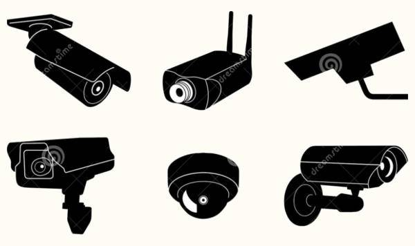 Security Camera Vector Idea