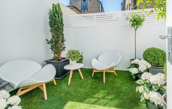 small modern patio chairs