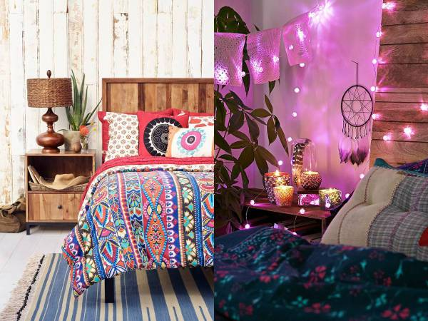 10 Bohemian Style Bedroom Design Ideas | Design Trends - Premium PSD ...