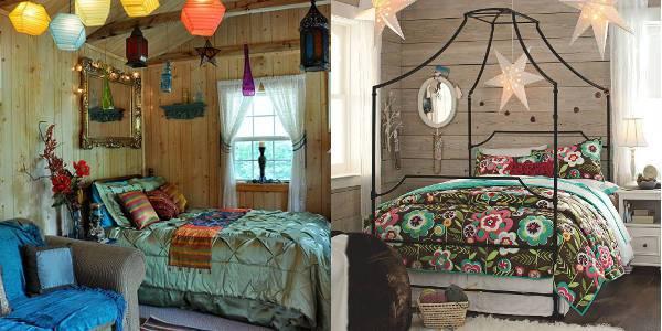 summer bohemian bedroom