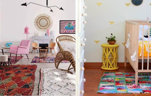 tribal print rug1