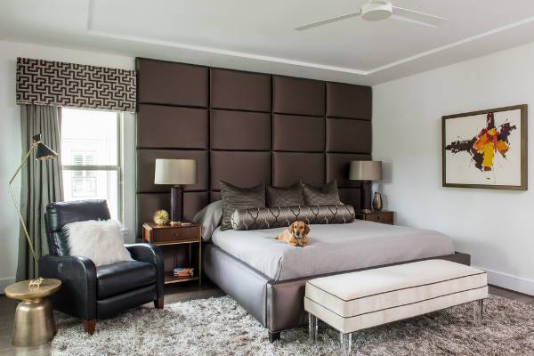 leather arm chair for bedroom