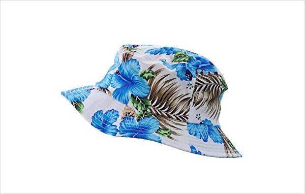 floral print bucket hat