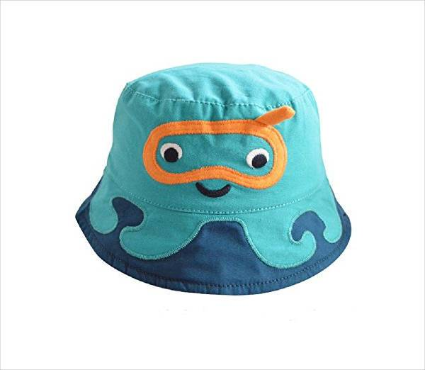 1ee55f87df1 Funny Cartoon Bucket Hat
