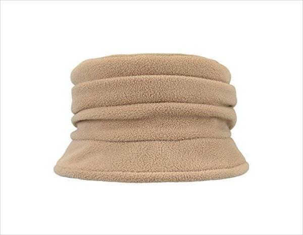 fleece lined bucket hat